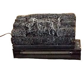 Calefactor Calentador Inserto Chimenea Electrico Tronco