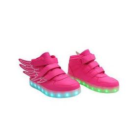 Zapatillas Led Modelo Exclusivo Con Alas Niños Niñas 28 A 29