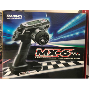 Radio Sanwa Airtronics Mx6 - No Futaba / Ko Propo / Spektrum