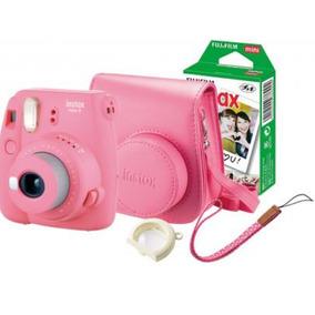 Câmera Instantânea Instax Mini 9+flime+case - Escolher Cor