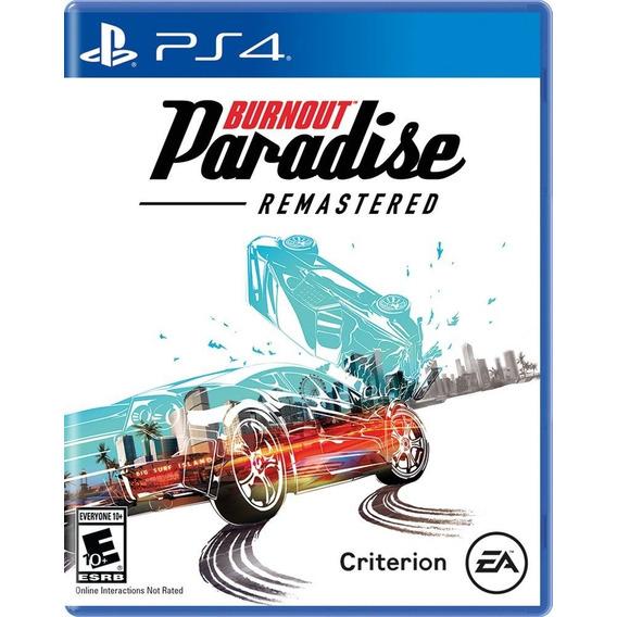 Burnout Paradise Juego Carrera Ps4 Original Físico Full