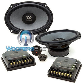 Morel Tempo Ultra 692 2-way 6 X 9 Car Component Speaker Sy