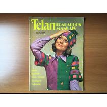 Revista Telan Trabalhos Manuais Ano 1 N° 1 De 1973 - Moda
