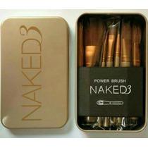 Brochas Naked 3 Urban Decay 12 Piezas