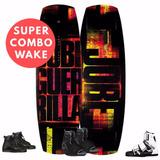 Supercombo Wakeboard Jobe Guerrilla Y Botas O