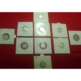 Coleccion De Plata 2 Bs ,1 Bs,3 Reales 9 Medios.82.250.000._