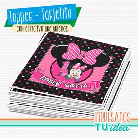 Minnie Bebe - Tarjetita Minnie Bebé Para Imprimir