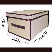 Caixa Organizadora Multiuso Dobravel 45 Cm X 30 Cm X 20 Cm