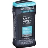 Twin Pack Dove Men + Care Clean Comfort Antitranspirante Des