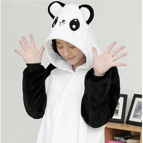 Pijama Mameluco Kigurumi Onesi Cosplay Oso Panda Adulto