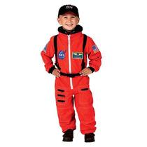 Disfraz Astronauta De La Nasa Jr. Para Niño Talla 2-3 Años