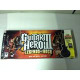 Guitarra Do Guitar Hero Legends Of Rock Ps3 Ler Descrição