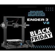 Ender 3 V2 Impressora 3d Creality 12x Sem Juros