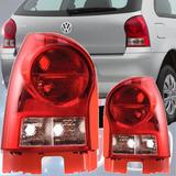 Faro Trasero Volkswagen Gol Iv Power 2005 / 2011 Base Roja