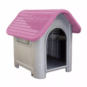 Casa Casinha Nº 3 Cachorro Plástico Melhor Frete Rosa
