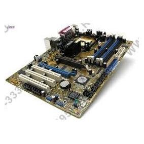 Placa Mãe Asus P4v8000-x+512 Mg De Memoria Drr400+pentium 4