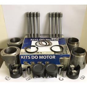Kit Motor Fusca 1600 1.6 Ar Após 84 Até 04 Gasolina Completo