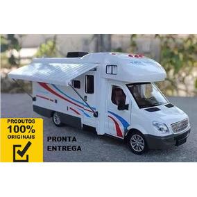 Miniatura Motorhome Sprinter De Luxo Rv Escala 1:32