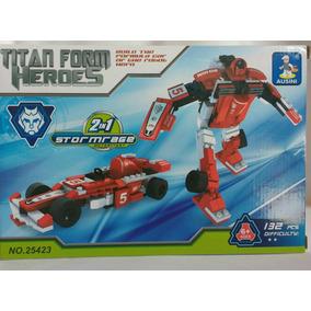 Transformers Padrão Lego 132 Peças( Ausini , )