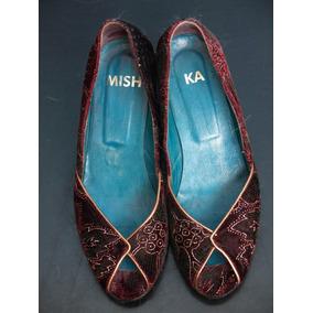 Zapatos De Mujer De Onvierno Ojo De Pez Mishka Talle 37
