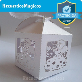 Caja Cajitas Mariposas Dulces Recuerdos Fiesta Bautizo Boda