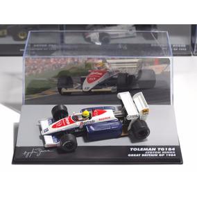 Ayrton Senna Miniatura Formula 1 Lendas Brasileiras Toleman