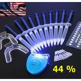 Kit Clareamento Dental Whiteness Clareador 44% 10 Seringas