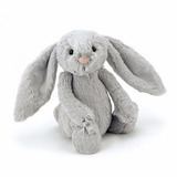 Jellycat Tímido Conejo Gris, Medio - 12. Envio Gratis