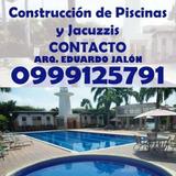 Construccion De Piscina Y Jacuzzi