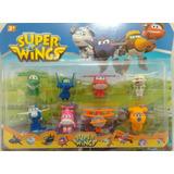 Kit Com 8 Super Wings Discovery Kids Mini