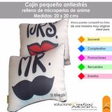 Cojin - Almohada Personalizada Antiestres De 20x20 Cms