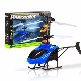 Helicóptero Por Indução Recarregável Brinquedo Voador