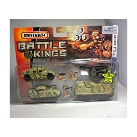 Matchbox Militar Tanque Hummer Cañon Soldados Solo Envios