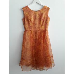 Vestido Retro Vintage Floreado Talle M