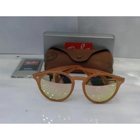 48e4a5b315708 Óculos Ray Ban Rounder Rb 3447 Tam 50 Rosé Com Dourado - Óculos con ...