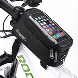 Maletin Bicicleta Porta Celular Gps Iphone Estuche Roswheel