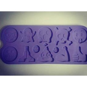 Molde Silicona Emoji Caca Emoticon Reposteria Porcelana Fria