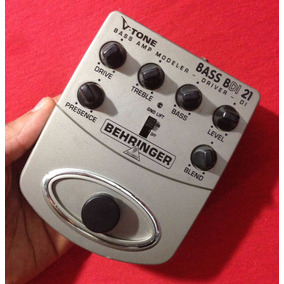 Behringer V-tone Bass Amp Modeler Bdi21 - Willaudio