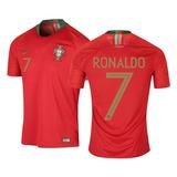 Camiseta De Portugal Nike 2018 Ronaldo 7