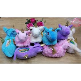 Hermosas Pantuflas Babuchas Unicornio Niñas. Cómodas Lindas!