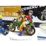 Dragon Ball Goku Y Milk En Moto Original No Imitacion China