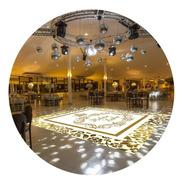 Pista De Dança Aniversário 15 Anos Debutante Db01 - 5x5m
