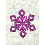 Copos De Nieve Goma Eva Glitter Frozen 5,3cmx20 U Candy Bar