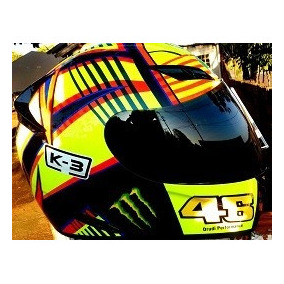 Capacete Monster 46 Performance Antiscratch + Brinde