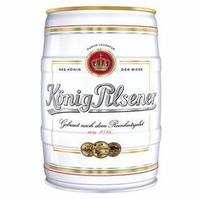 Cerveza Alemana Konig Pilsener Barril 5 Litros - Zona Flores