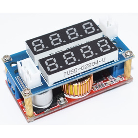 Regulador De Tensão Display 5a Dc Dc Voltímetro Amperímetro