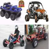 Planos Construye Buggy Karting Go Kart Anfibio 6x6 + Arenero