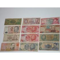 27 Billetes Antiguos Extranjeros