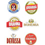 Rótulos Personalizados Cerveja Artesanal Em Vinil 6cmx9cm
