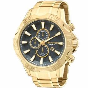 Relógio Technos Grande Legacy Cronógrafo Dourado Os10ey/4a